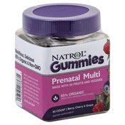 Natrol Prenatal Multi, Gummies, Berry, Cherry & Grape