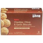 Hy-Vee Cheddar, Chive & Garlic Biscuits