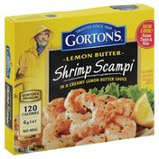 Gorton's Shrimp Scampi, Lemon Butter, Box