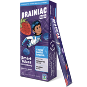 Brainiac Mixed Berry Whole Milk Yogurt Tubes with BrainPack®