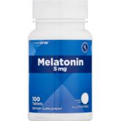 CareOne Melatonin 5 mg Tablets