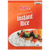 Hy-Vee Enriched Long Grain White Instant Rice