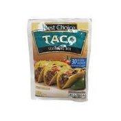 Best Choice Taco Seasoning Mix