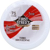 First Street Bowls, Plastic