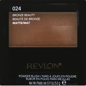 Revlon Powder Blush, Matte, Bronze Beauty 024