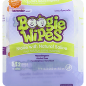Boogie Wipes Wipes, Lavender Scent, 2 Packs