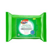 Zyrtec Soothing Non-Medicated Face Wipes