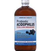 American Health Probiotic Acidophilus, Natural Blueberry Flavor