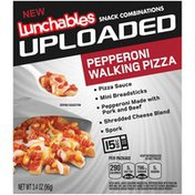 Lunchables Pepperoni Walking Pizza Lunch Combination