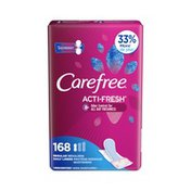 CAREFREE Carefree Acti-Fresh Regular Pantiliners To Go, Unscented