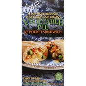Amy's Kitchen Vegetable Pie, in a Pocket Sandwich