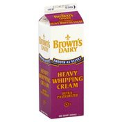 Browns Dairy Whipping Cream, Heavy