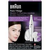 Braun Silk-epil Braun Face 830 Premium edition Facial epilator & facial cleansing brush incl. mirror and beauty pouch  Appliance