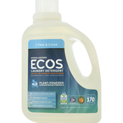 ECOS Laundry Detergent, Free & Clear
