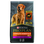 Purina Pro Plan High Protein Dog Food With Probiotics for Dogs, Shredded Blend Lamb & Rice Formula