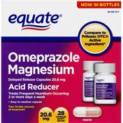 Equate Acid Reducer, Capsules