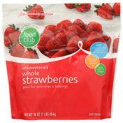 Food Club Unsweetened Whole Strawberries