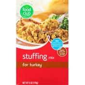 Food Club Stuffing Mix, for Turkey