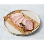 Jones Dairy Farm Canadian Bacon, Hickory Smoked, Center Cut, Pork Lion