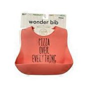 Bella Tunno Pink Silicone Pizza Over Everything Wonder Bib