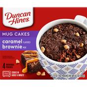 Duncan Hines Mug Cakes, Caramel Flavored Brownie