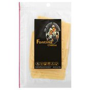 Les Petites Fermieres Cheese, Sliced, Fontina