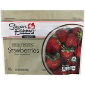 Seven Farms Strawberries, Organic, Fresh Frozen