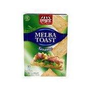 Paskesz Sesame Melba Toast