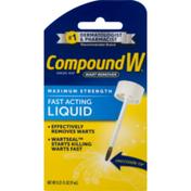 CompoundW Wart Remover, Maximum Strength, Fast Acting Liquid