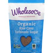 Wholesome Turbinado Sugar, Organic, Raw Cane