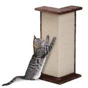 Penn-Plax Sisal Cat Scratcher Wall Corner Post & Perch