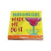 Creative Converting Margaritas Made Me Do It Beverage Napkins