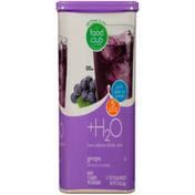Food Club +H2O, Grape Low Calorie Drink Mix