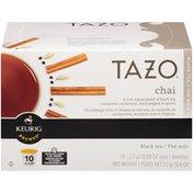 Tazo Tea Chai Keurig Brewed K-Cups Black Tea