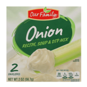 Our Family Onion Recipe, Soup & Dip Mix