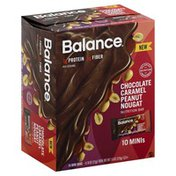 Balance Bar Nutrition Bars, Chocolate Caramel Peanut Nougat, Minis