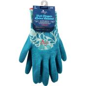 Digz Garden Gloves, Full Finger, Latex Coated, Large