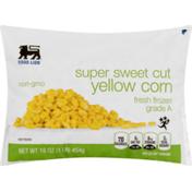 Food Lion Yellow Corn, Super Sweet Cut, Fresh Frozen, Bag