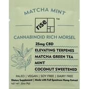Rise Cannabinoid, Rich, 25 mg, Morsel, Matcha Mint