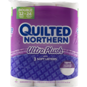 Quilted Northern Ultra Plush Unscented Bathroom Tissue