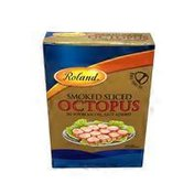 Roland Smoked Sliced Octopus In Soybean Oil Salt Added