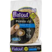 Flatout Protein Up Classic White Flatbread
