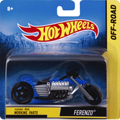 Hot Wheels Motorcycle, Ferenzo