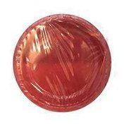 First Street Fs Touch Of Color Classic Red Plstc Plate 10 Inch