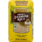 Golden Star Jasmine Rice, Brown