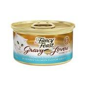 Fancy Feast Gravy Lovers Salmon & Sole Feast Wet Cat Food