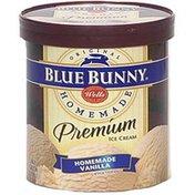 Blue Bunny Premium Ice Cream, Homemade Vanilla