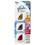 Glade Vent Oil, Hawaiian Breeze, Lavender & Vanilla, Red Honeysuckle Nectar, Value Pack