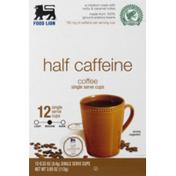 Food Lion Half Caffeine Coffee Single Serve Cups