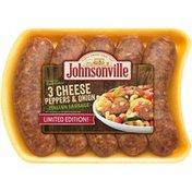Johnsonville Fresh 3 Cheese Pepper & Onion